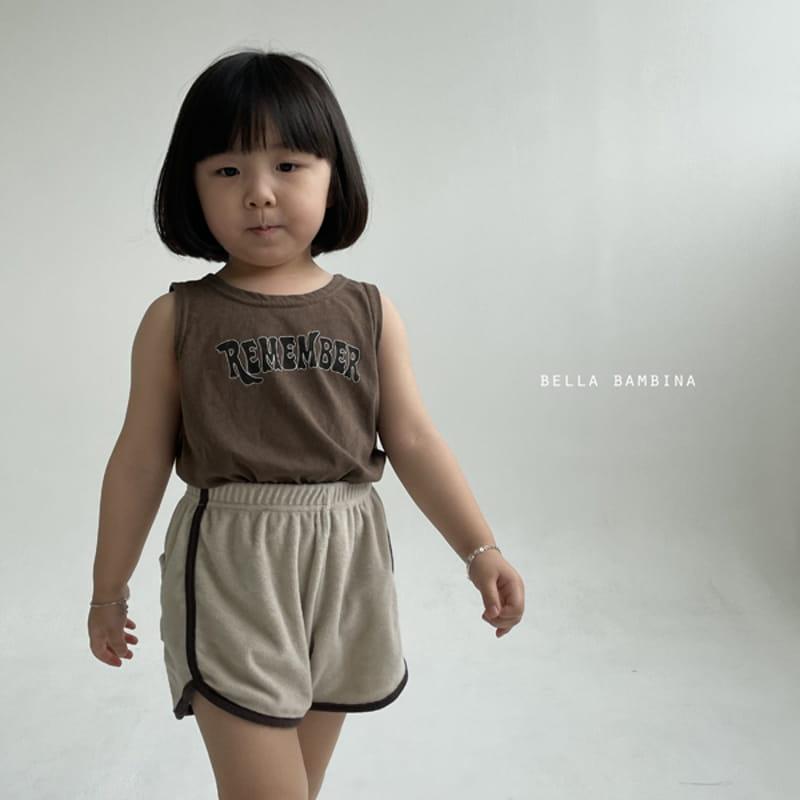 BELLA BAMBINA - Korean Children Fashion - #Kfashion4kids - Tery Shorts