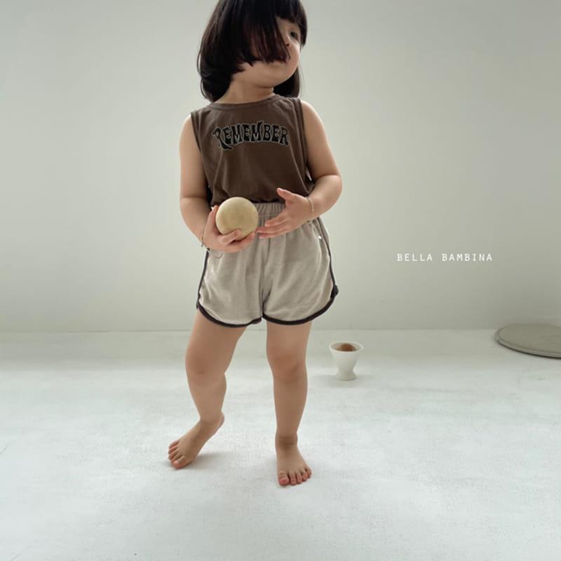 BELLA BAMBINA - Korean Children Fashion - #Kfashion4kids - Tery Shorts - 2