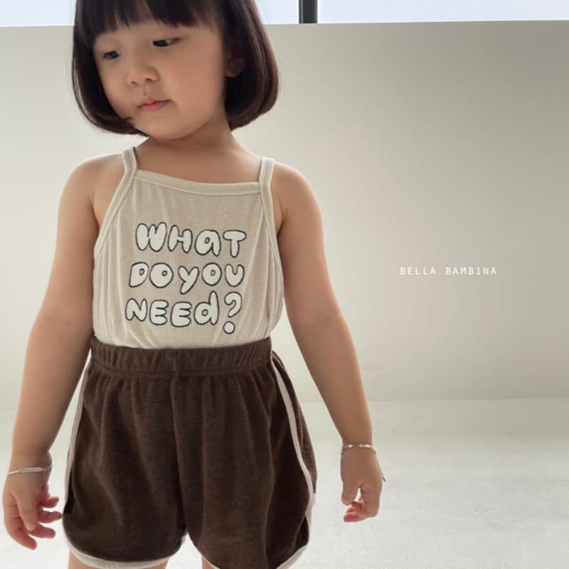 BELLA BAMBINA - Korean Children Fashion - #Kfashion4kids - Tery Shorts - 3
