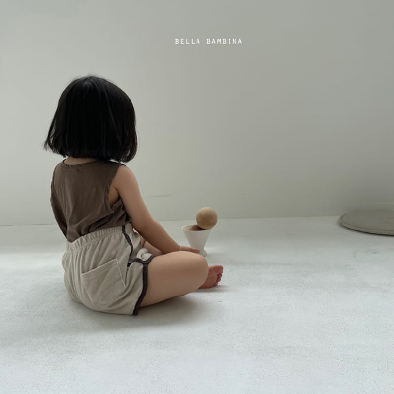 BELLA BAMBINA - Korean Children Fashion - #Kfashion4kids - Tery Shorts - 4