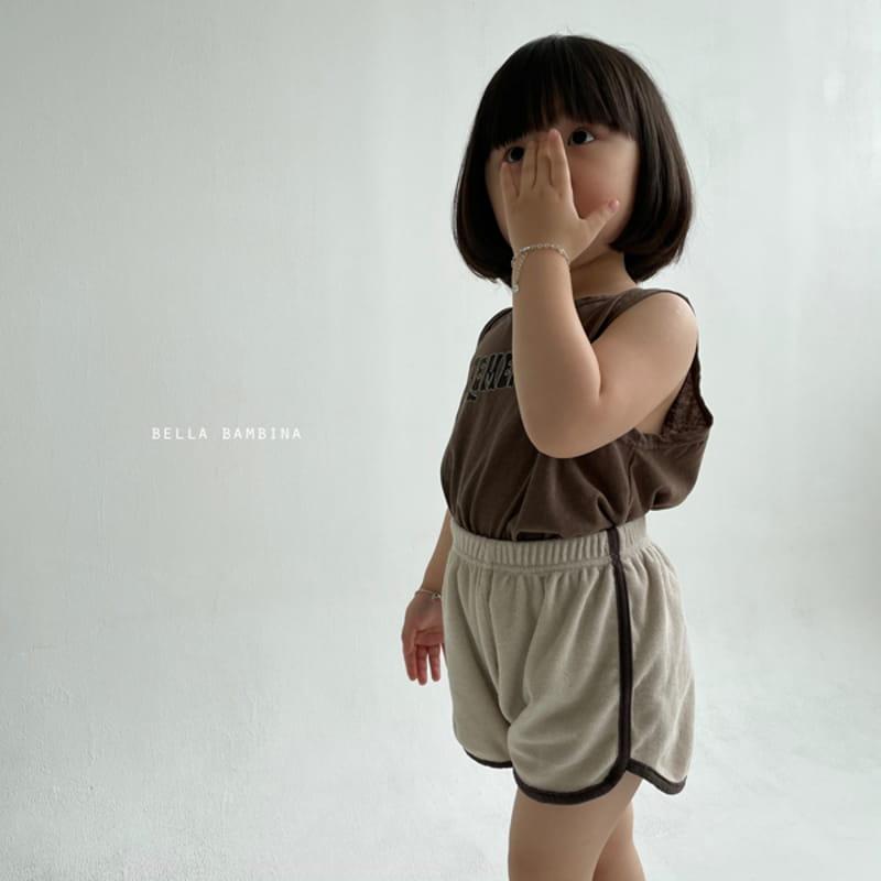 BELLA BAMBINA - Korean Children Fashion - #Kfashion4kids - Tery Shorts - 5