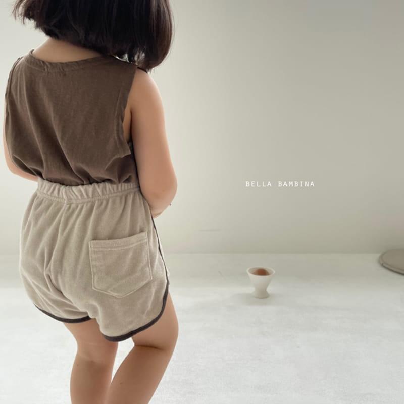 BELLA BAMBINA - Korean Children Fashion - #Kfashion4kids - Tery Shorts - 6