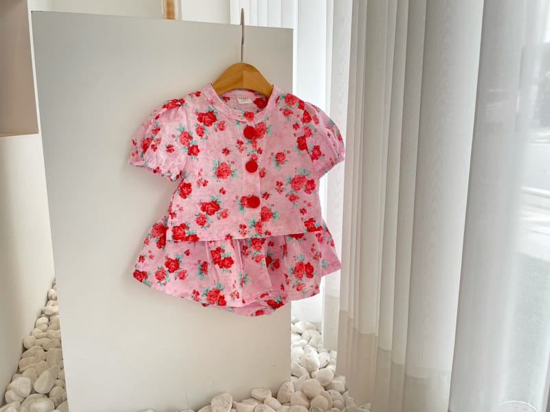 JEAYA & MYMI - Korean Children Fashion - #Kfashion4kids - Rose Top Bottom Set - 10