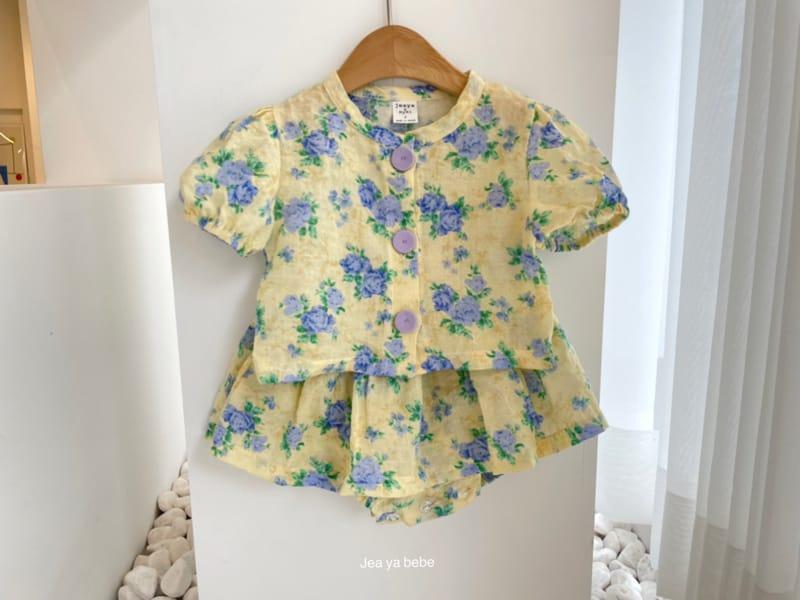 JEAYA & MYMI - Korean Children Fashion - #Kfashion4kids - Rose Top Bottom Set - 11