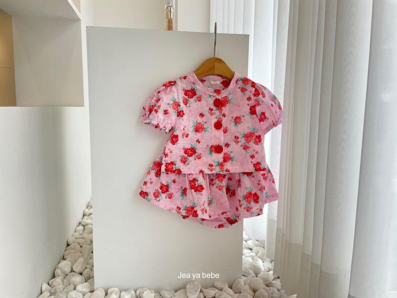 JEAYA & MYMI - Korean Children Fashion - #Kfashion4kids - Rose Top Bottom Set - 3