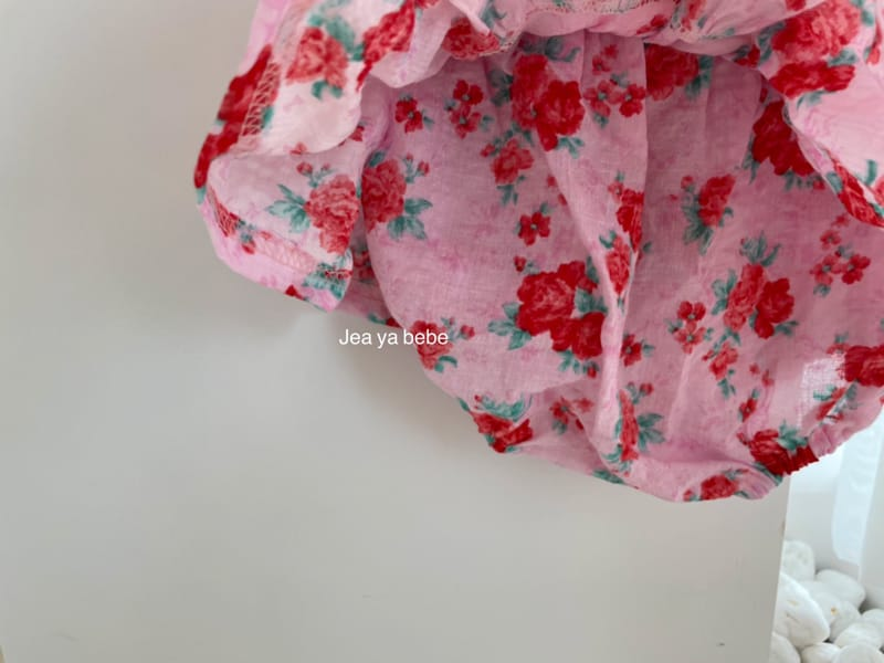 JEAYA & MYMI - Korean Children Fashion - #Kfashion4kids - Rose Top Bottom Set - 4