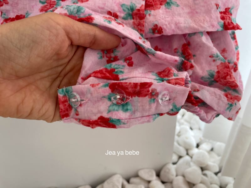 JEAYA & MYMI - Korean Children Fashion - #Kfashion4kids - Rose Top Bottom Set - 5