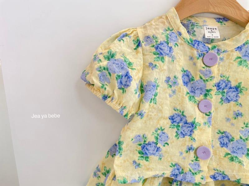 JEAYA & MYMI - Korean Children Fashion - #Kfashion4kids - Rose Top Bottom Set - 7