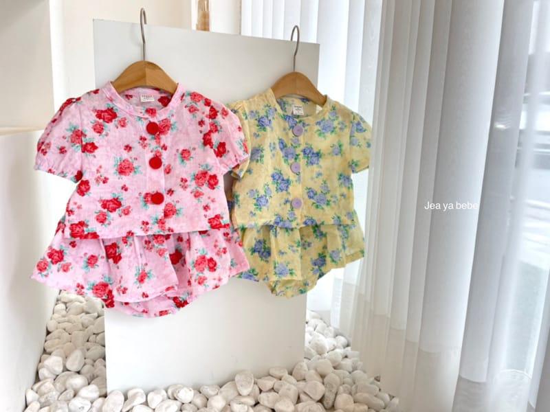 JEAYA & MYMI - Korean Children Fashion - #Kfashion4kids - Rose Top Bottom Set - 9