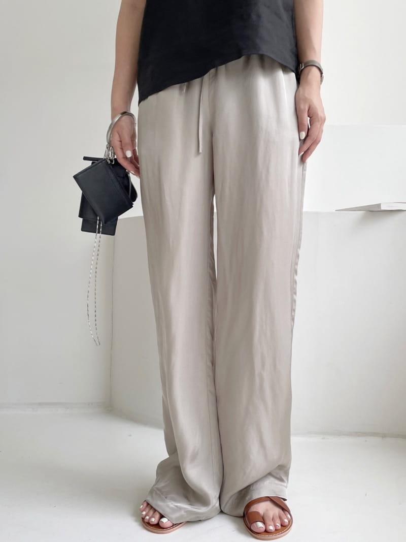 ASOME - Korean Children Fashion - #Kfashion4kids - Silky Pants - 2