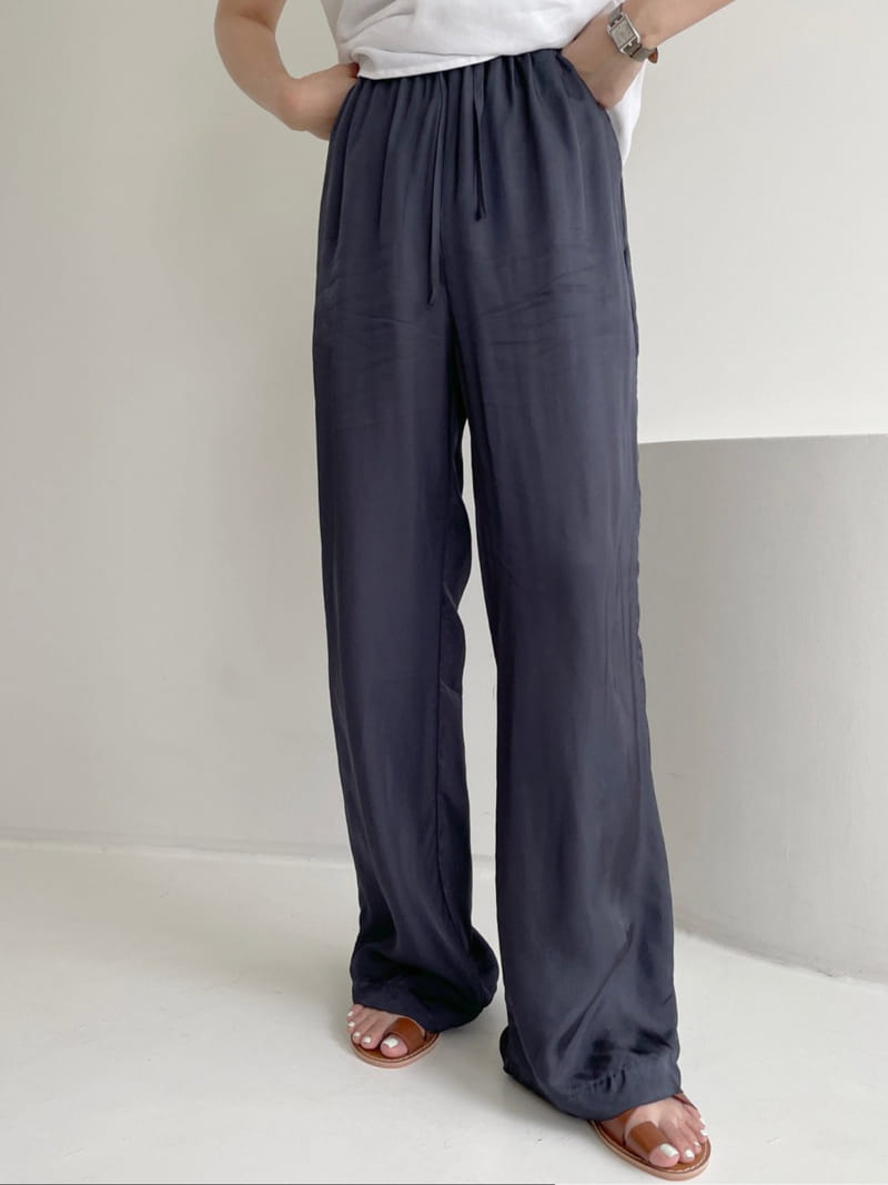 ASOME - Korean Children Fashion - #Kfashion4kids - Silky Pants - 4