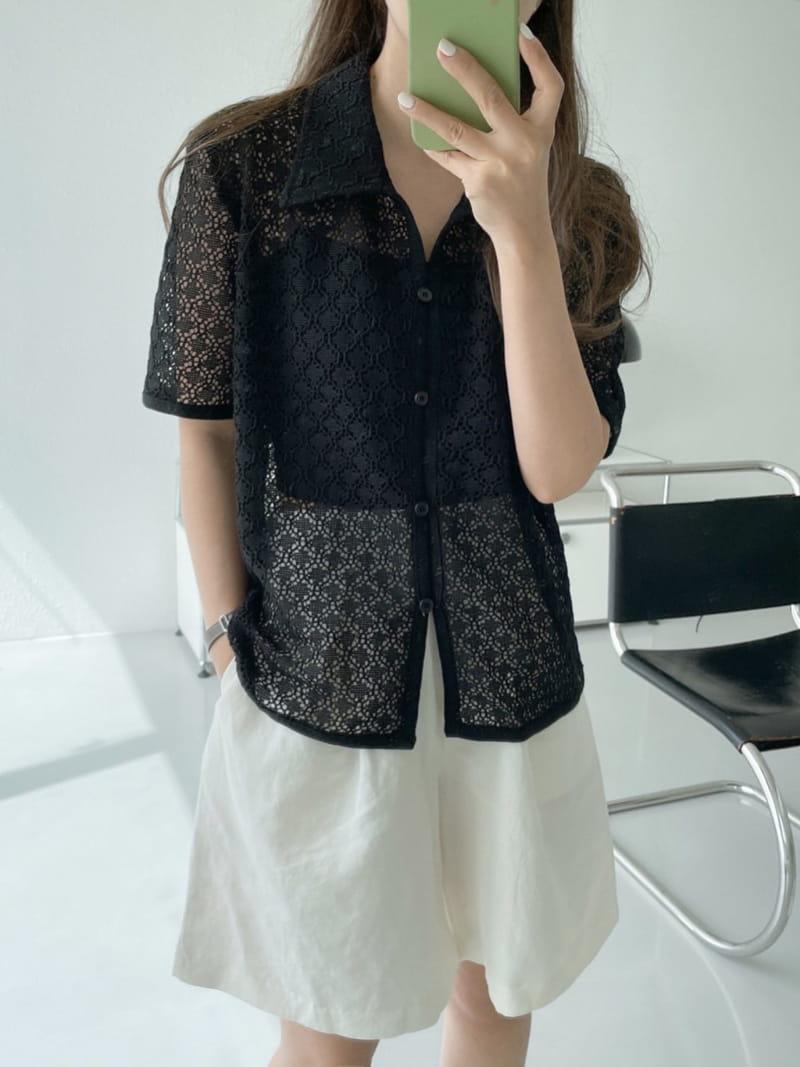 ASOME - Korean Children Fashion - #Kfashion4kids - Lace Shirt