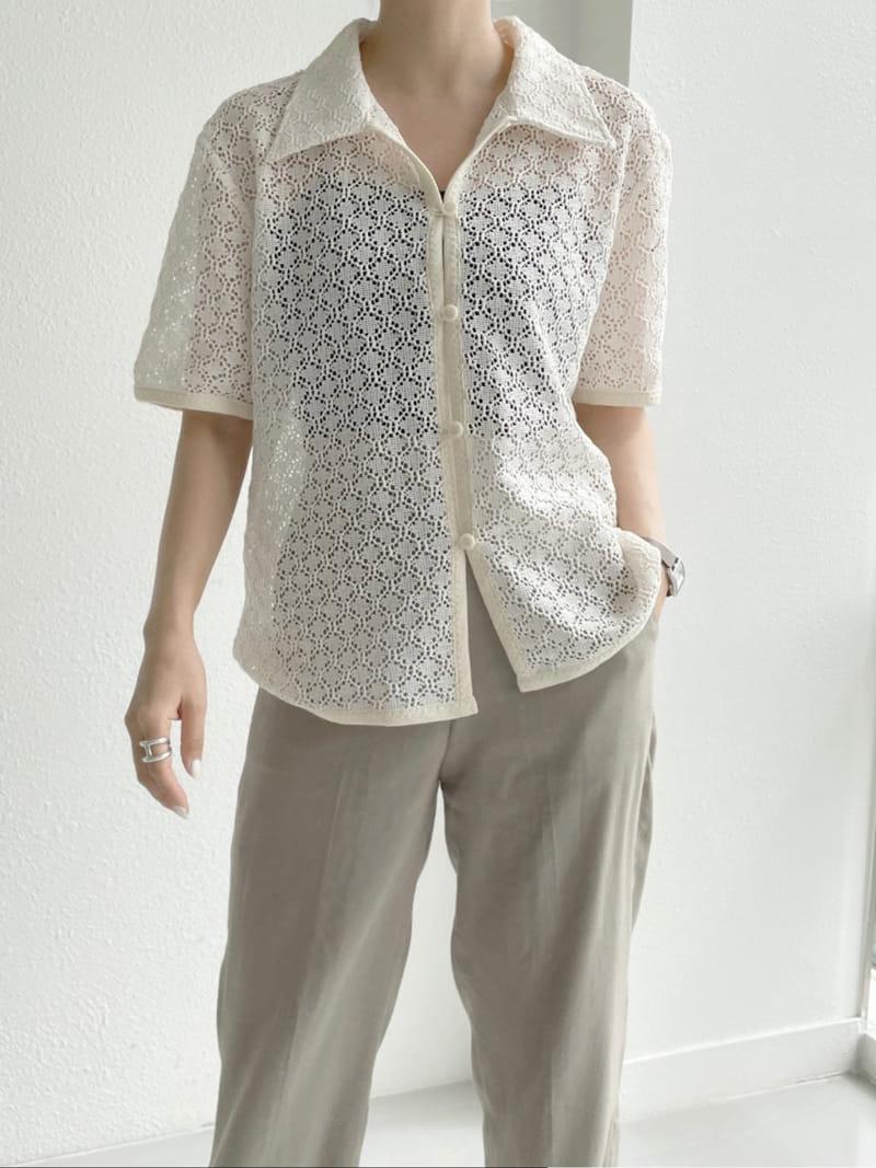 ASOME - Korean Children Fashion - #Kfashion4kids - Lace Shirt - 4