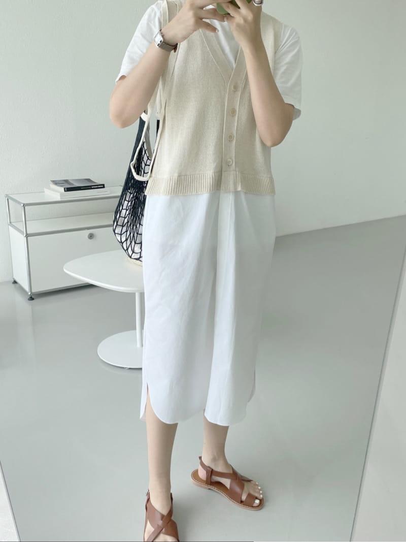 ASOME - Korean Children Fashion - #Kfashion4kids - Sleeveless One-piece