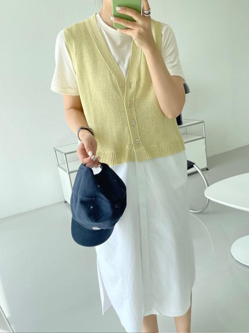 ASOME - Korean Children Fashion - #Kfashion4kids - Sleeveless One-piece - 3