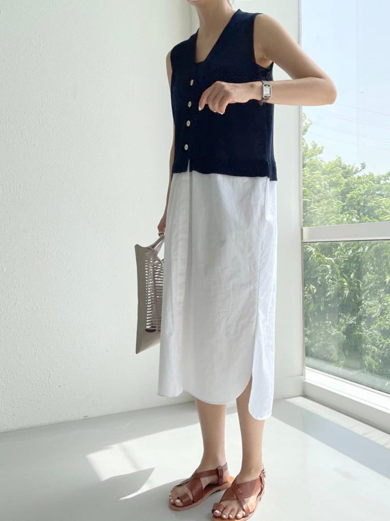 ASOME - Korean Children Fashion - #Kfashion4kids - Sleeveless One-piece - 4